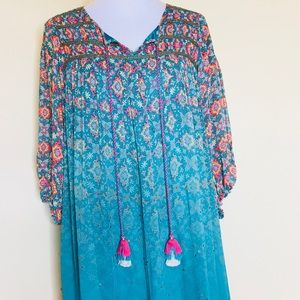 19a51a1c9883 Anthropologie Dresses | Anthro Tanvi Kedia Glimmered Ankita Dress Sz ...